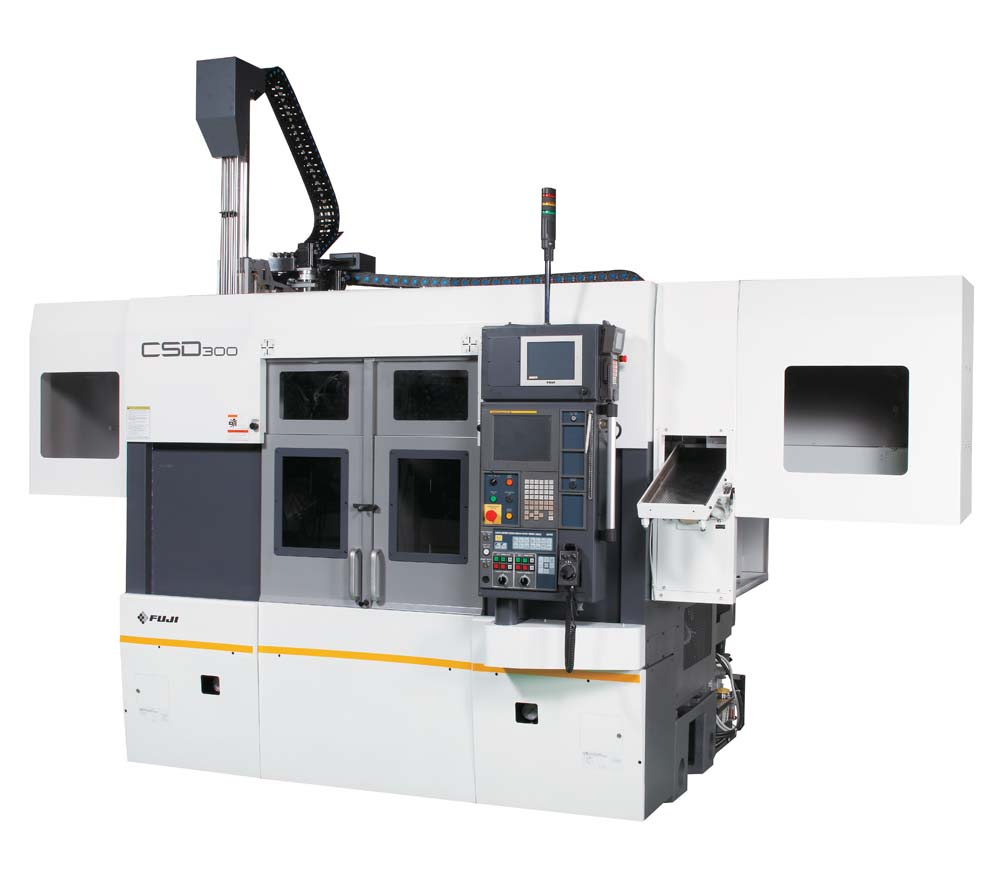 Fuji The CSD-300 Twin Spindle Lathe