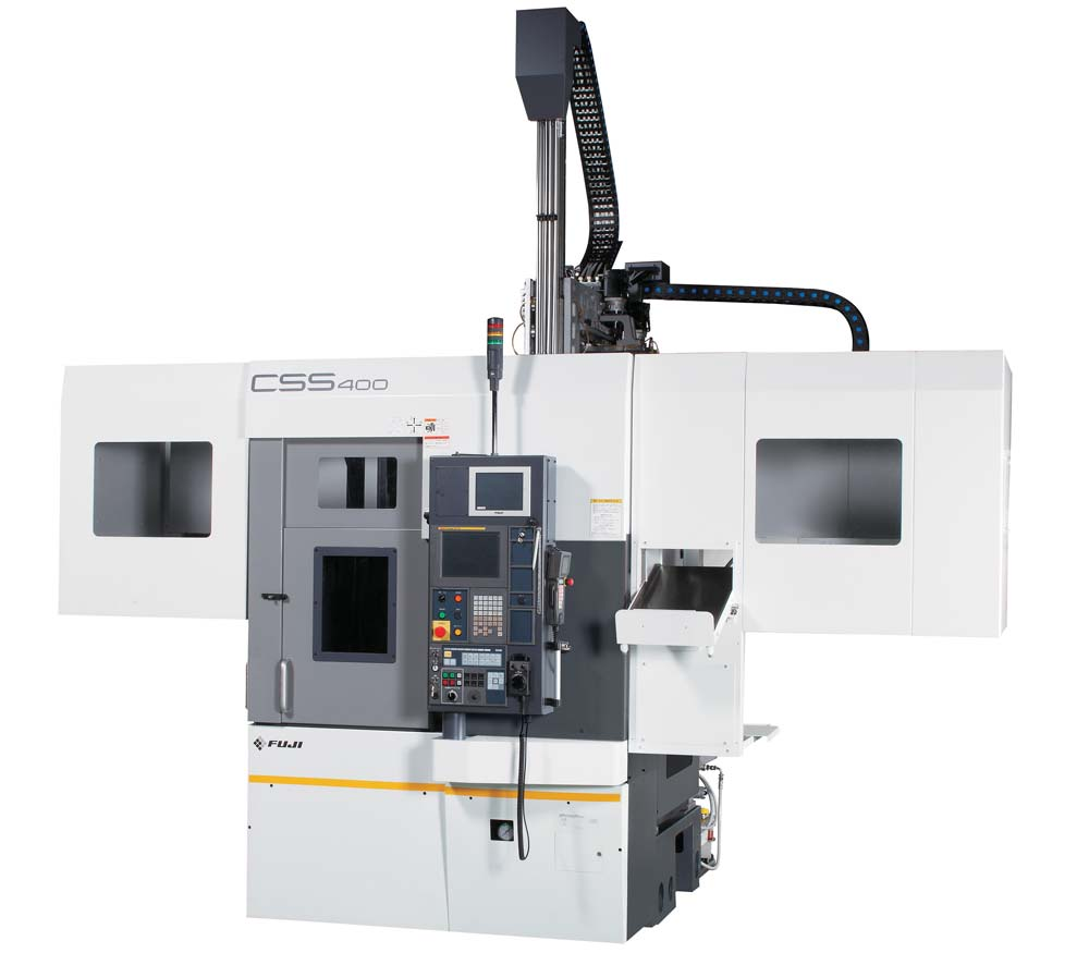 Fuji CSS-400 Twin Spindle Lathe